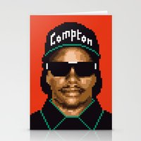 Compton city G Stationery Cards