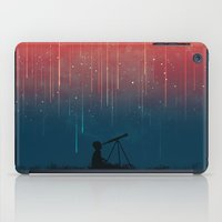 Meteor rain iPad Case