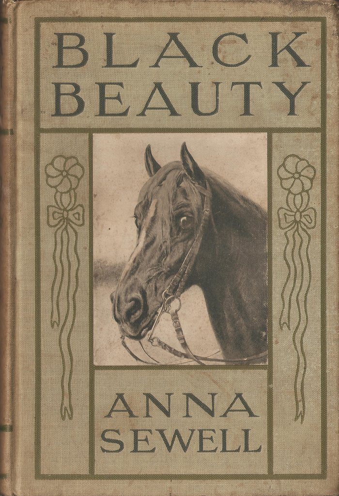 Book Cover Of Black Beauty : Black beauty first edition book cover photo art print by