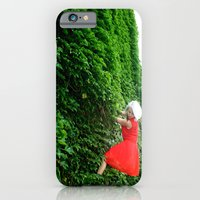 iPhone & iPod Case featuring Cat Climbs by bobtheberto