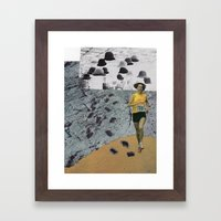 Particle Framed Art Print