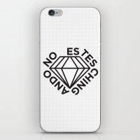 NO ESTES CHINGANDO. iPhone & iPod Skin