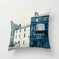 Northern Ireland Throw Pillow