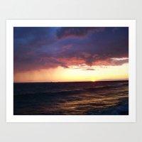 Great Lakes Art Print