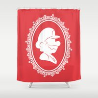 The Plumber Shower Curtain