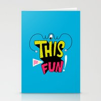 Wow this looks like fun! Stationery Cards