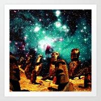 The Sky Watchers Art Print