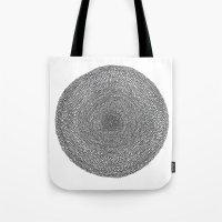 Circle / Semi Circle Tote Bag