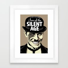 Sons Of The Silent Age Framed Art Print