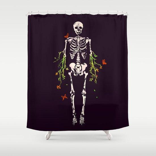 Dead is dead Shower Curtain