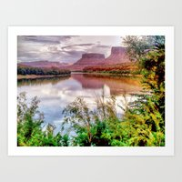 Colorado River At Moab Art Print