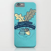 iPhone & iPod Case featuring We Don't Know How To Stop by Victoria Spahn
