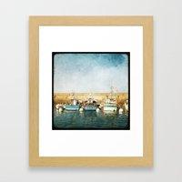 Houat #6 Framed Art Print