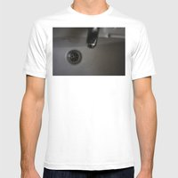 Drain Mens Fitted Tee White SMALL