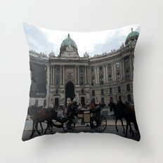 Wein Austria Throw Pillow