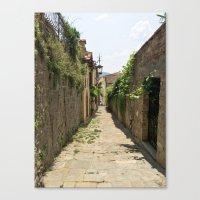 Arezzo Alley Canvas Print