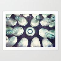 Bottles of Light Art Print