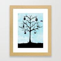 Free Birds Framed Art Print