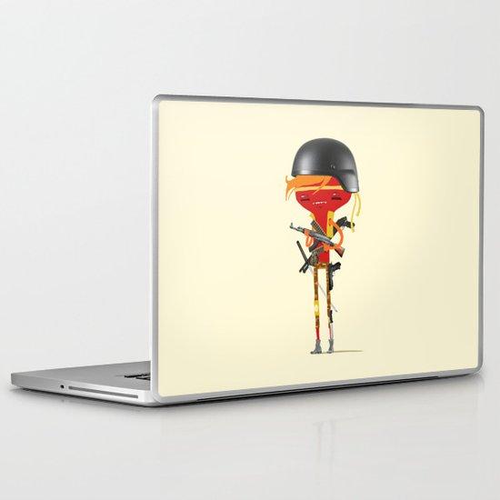 War is Henry Laptop & iPad Skin