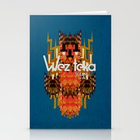 Dodi Owl Of The Wezteka… Stationery Cards