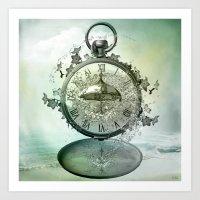 Timeless Flow Art Print
