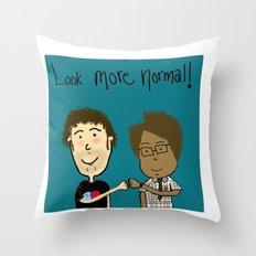More Normal!  Throw Pillow