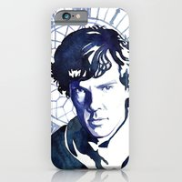 sherlock iPhone & iPod Cases featuring Sherlock by Jackie Sullivan