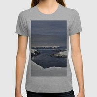 Blackstone Womens Fitted Tee Athletic Grey SMALL