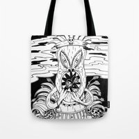Tiki Lunch Tote Bag