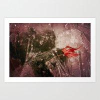 Autumn Frost Art Print