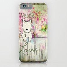 Westie Love ~ West Highland Terrier ~ Ginkelmier iPhone 6 Slim Case
