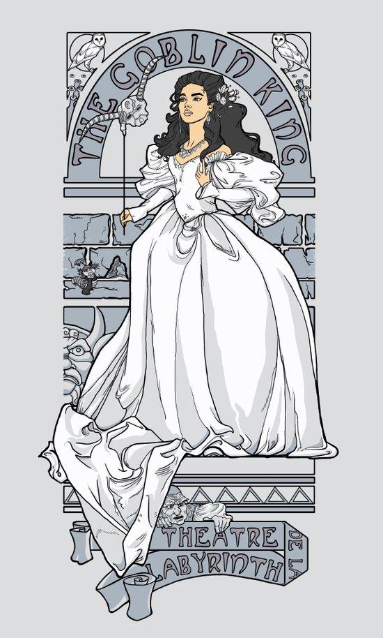 Theatre de la Labyrinth v2 Canvas Print