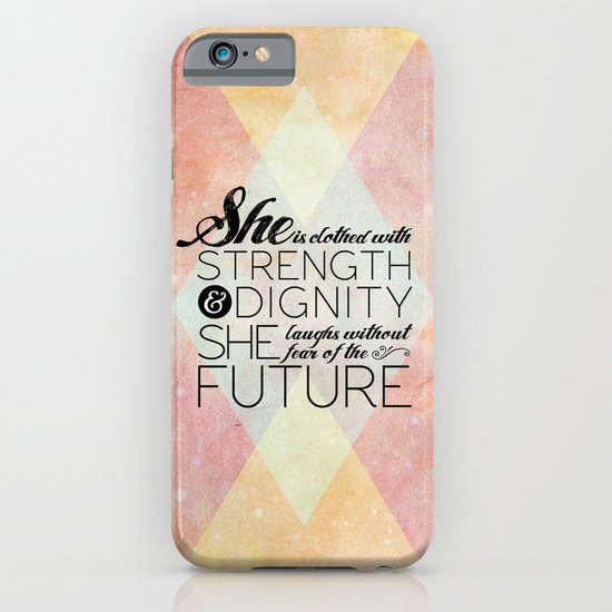Proverbs 31 She is...  iPhone & iPod Case
