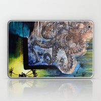 Literary Octopus Laptop & iPad Skin