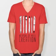 Weapons Of Mass Creation Unisex V-Neck