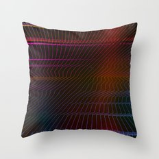 Stereotype (Sound Waves IV) Throw Pillow