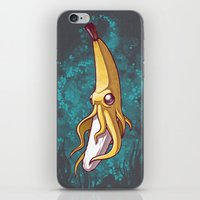Banana Squid!!! iPhone & iPod Skin