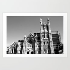 City of Churches - Adelaide Art Print