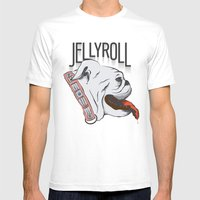 Jellyroll #10: Bull Dog … Mens Fitted Tee White SMALL