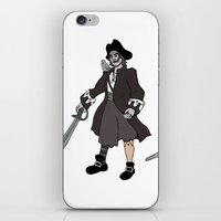 Pirate Prosthetics iPhone & iPod Skin