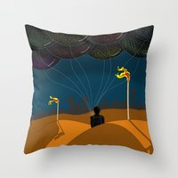 LEADING THE STARS Throw Pillow