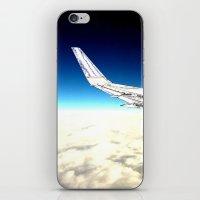 paper plane. iPhone & iPod Skin