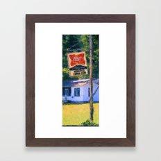 Miller Beer Framed Art Print