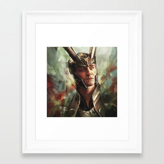 The Prince of Asgard Framed Art Print