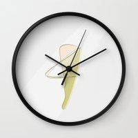 The Harpist Wall Clock