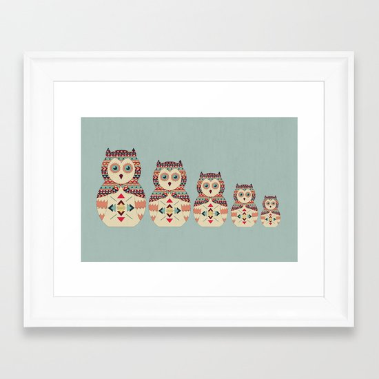 Hoot! Framed Art Print