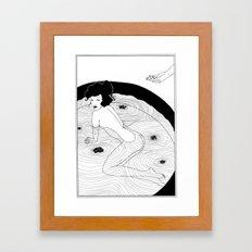Art Nouveau Posters: The Bath Framed Art Print