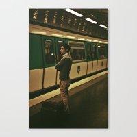 PARIS VII - YOUNG MAN Canvas Print