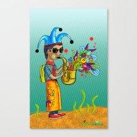 SaxoFunk Canvas Print
