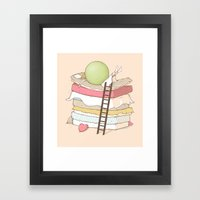 Can't Sleep Framed Art Print